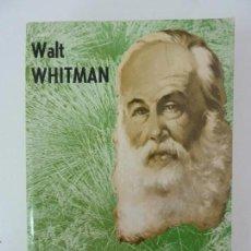 Libros de segunda mano: HOJAS DE HIERBA. WALT WHITMAN. Lote 134014994