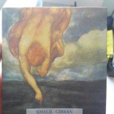 Libros de segunda mano: EL LOCO SUS PARÁBOLAS Y POEMAS KHALIL GIBRAN. ED. OLAÑETA. Lote 134035086