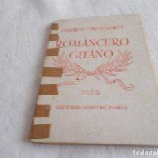 Libros de segunda mano: ROMANCERO GITANO EDITORIAL NUESTRO PUEBLO 1938. Lote 135051274