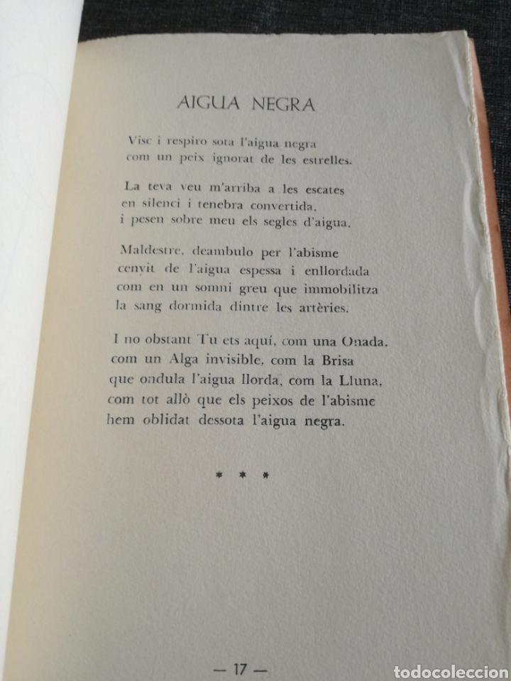 Libros de segunda mano: LAIGUA NEGRA - RAMON FOLCH I CAMARASA , EDICIÓ NUMERADA - IL. JOSEP GRESELY - Foto 5 - 135585014
