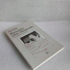 Libros de segunda mano: ELSA TRIOLET: RECUERDOS SOBRE MAIAKOVSKI Y UNA SELECCIÓN DE POEMAS NUEVO SIN LEER. Lote 136486382