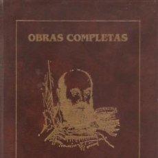 Livres d'occasion: OBRAS COMPLETAS - ÁLVAREZ LENCERO, LUIS 1988 (BADAJOZ). Lote 136685462