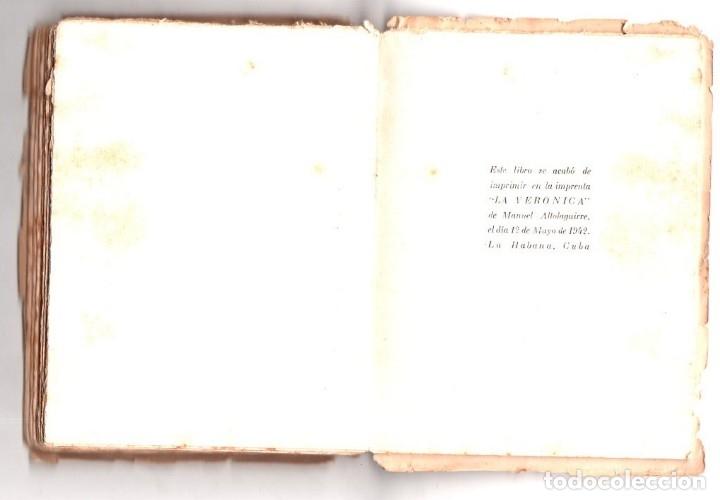 Libros de segunda mano: SÓNGORO COSONGO Y OTROS POEMAS. NICOLAS GUILLEN. DEDICADO Y FIRMADO POR EL AUTOR. 1942. LEER. - Foto 6 - 137282030