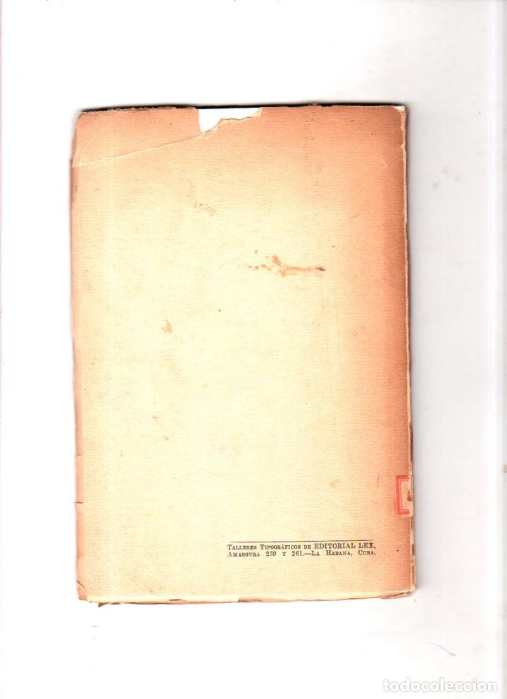 Libros de segunda mano: BAJAREQUE. HELIODORO G. CELESTRIN. CON DEDICATORIA Y FIRMA DEL AUTOR. LA HABANA 1951. - Foto 5 - 137305946