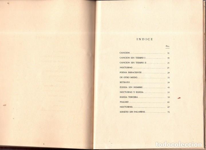Libros de segunda mano: SABOR ETERNO. POEMAS. EMILIO BALLAGAS. LA HABANA, 1939. CON DEDICATORIA Y FIRMA DEL AUTOR. LEER. - Foto 7 - 137393794