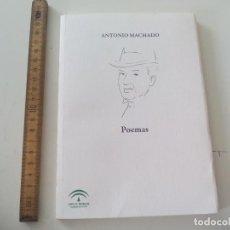 Libros de segunda mano: ANTONIO MACHADO, POEMAS, 2009, JUNTA DE ANDALUCIA.. Lote 137470754