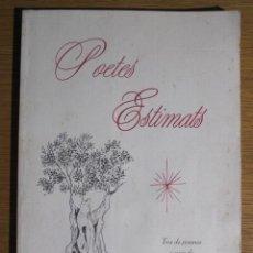 Libros de segunda mano: POETES ESTIMATS. TRIA DE POEMES A CURA DE MARIA LLANERES. MANRESA-PALMA DE MALLORCA, NADAL 1999. Lote 137507162