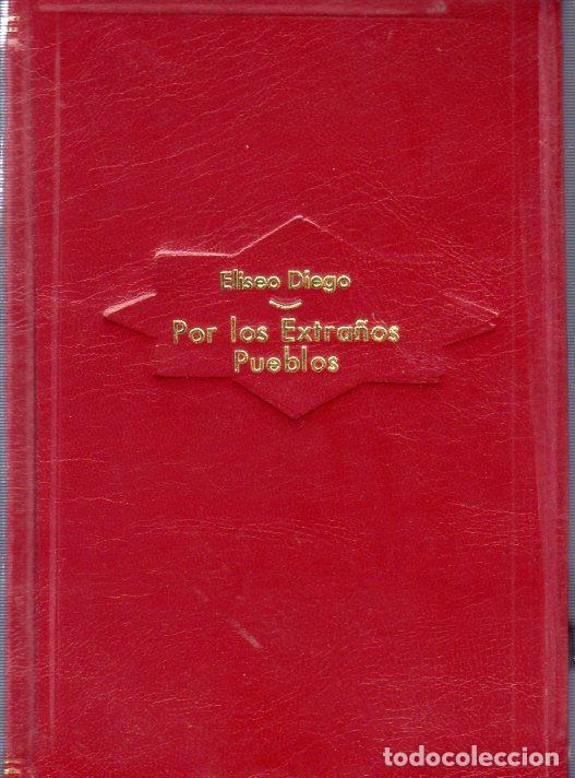 POR LOS EXTRAÑOS PUEBLOS. ELISEO DIEGO. CON DEDICATORIA Y FIRMA DEL AUTOR. 1ª EDICION. HABANA, 1958. (Libros de Segunda Mano (posteriores a 1936) - Literatura - Poesía)