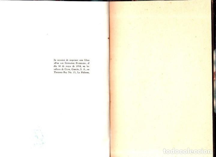 Libros de segunda mano: POR LOS EXTRAÑOS PUEBLOS. ELISEO DIEGO. 1ª EDICION. LA HABANA, 1958. - Foto 6 - 137964830