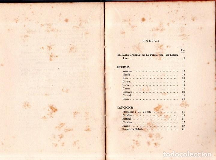 Libros de segunda mano: GRADUAL DE LAUDES. ANGEL GAZZTELU. CON DEDICATORIA Y FIRMA DEL AUTOR. 1ª EDICION. 1955. LEER. - Foto 5 - 137986406