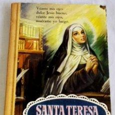 Libros de segunda mano: SANTA TERESA DE JESÚS, SUS MEJORES POESÍAS - EDITORIAL BRUGUERA 1961. Lote 138814178