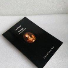 Libros de segunda mano: MAZEPPA - LORD BYRON VISOR POESIA 1999 MUY BUEN ESTADO. Lote 139032710