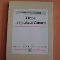 Libros de segunda mano: ROMANCERO TRADICIONAL CANARIO. MAXIMILIANO TRAPERO. Lote 139167358