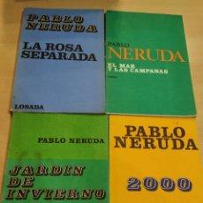Libros de segunda mano: PABLO NERUDA. LOSADA.. Lote 139442206