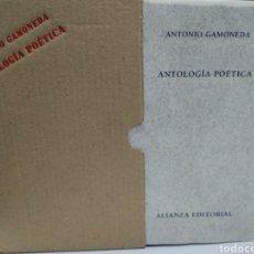 Libros de segunda mano: ANTOLOGÍA POÉTICA. ANTONIO GAMONEDA.. Lote 139561129