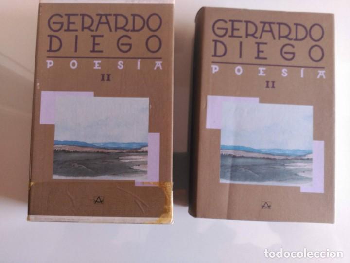 OBRA COMPLETA, GERARDO DIEGO, TOMO II, AGUILAR (Libros de Segunda Mano (posteriores a 1936) - Literatura - Poesía)