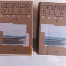 Libros de segunda mano: OBRA COMPLETA, GERARDO DIEGO, TOMO II, AGUILAR. Lote 139711022