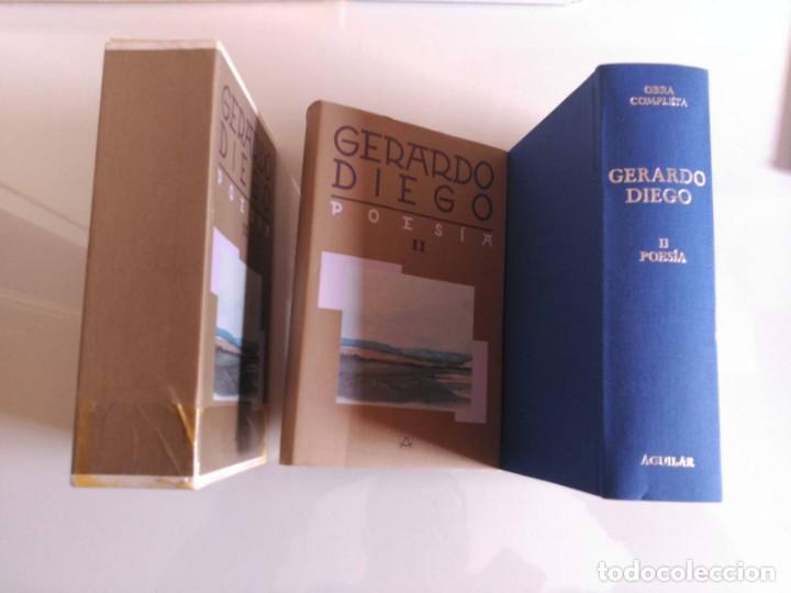 Libros de segunda mano: Obra Completa, Gerardo Diego, Tomo II, Aguilar - Foto 3 - 139711022