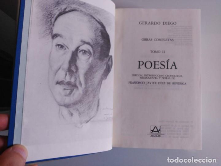 Libros de segunda mano: Obra Completa, Gerardo Diego, Tomo II, Aguilar - Foto 4 - 139711022