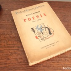 Libros de segunda mano: RAFAEL ALBERTI . POESIA (1924-1939). 1ª ED. 1940. EDIT. LOSADA. Lote 174422339