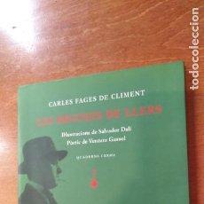 Libros de segunda mano: CARLES FAGES DE CLIMENT , LES BRUIXES DE LLERS , IL.LUSTRACIONS DE SALVADOR DALI. Lote 140477842