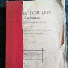 Libros de segunda mano: CANTOS POPULARES ESPAÑOLES. Lote 140492662