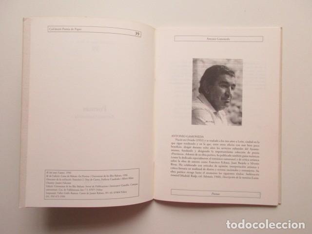 Libros de segunda mano: ANTONIO GAMONEDA, POEMA - Foto 3 - 140801542