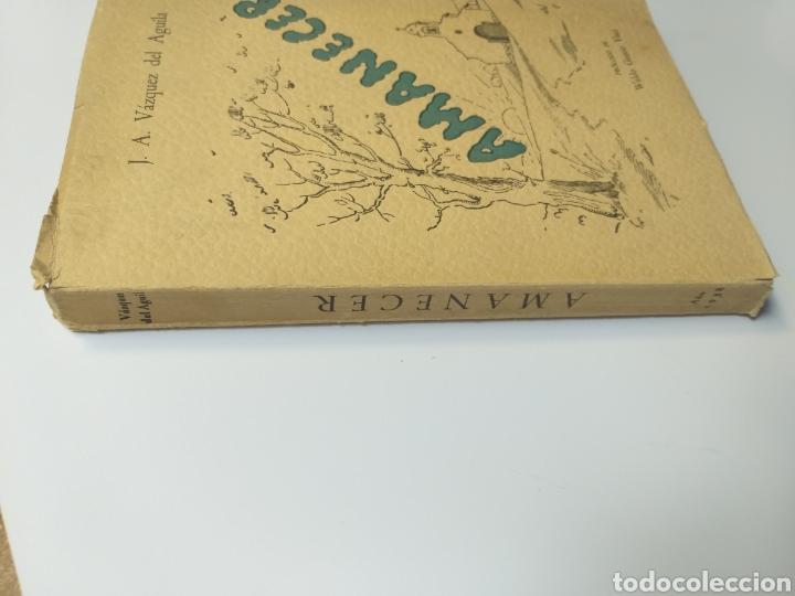 Libros de segunda mano: Poesía . Amanecer José Antonio Vázquez del Águila 1958 - Foto 2 - 140865190