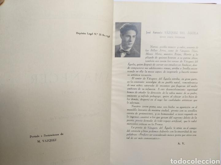 Libros de segunda mano: Poesía . Amanecer José Antonio Vázquez del Águila 1958 - Foto 7 - 140865190