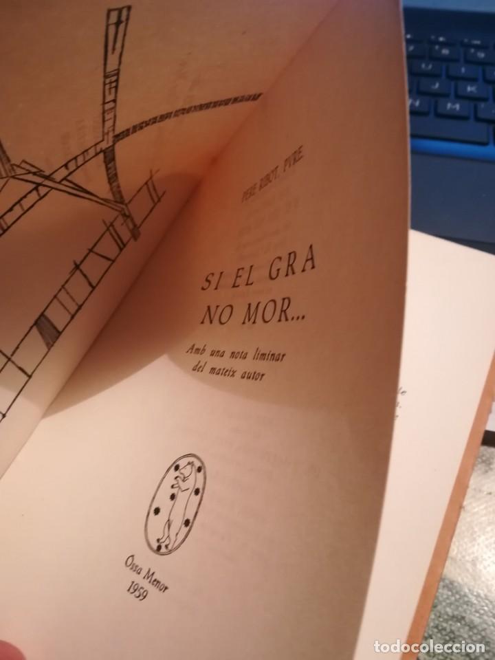 Libros de segunda mano: Si el gra no mor... - Pere Ribot, Pvre. - 1959 - Exemplar dedicat i signat per l'autor - en català - Foto 4 - 141691562