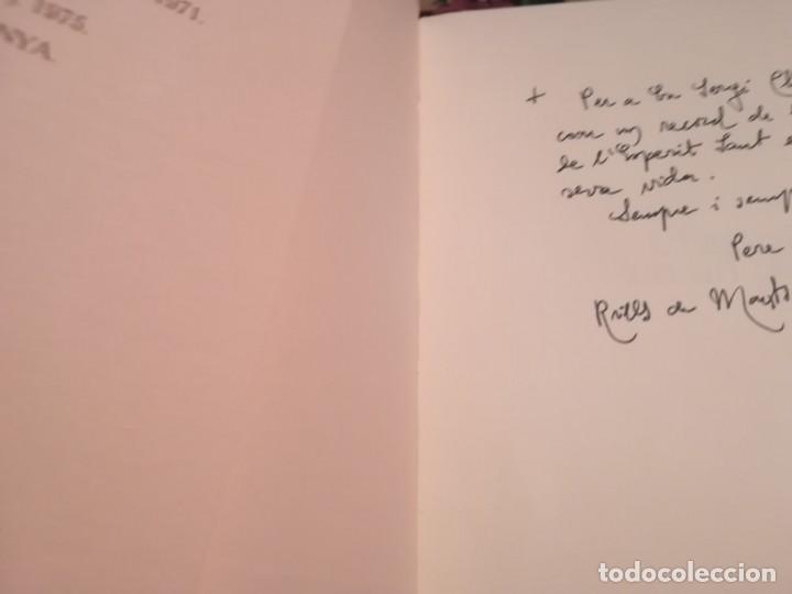 Libros de segunda mano: L'Esperit en un punt. Poemes - Pere Ribot i Sunyer - Ejemplar dedicado y autografiado por el autor. - Foto 3 - 141947074