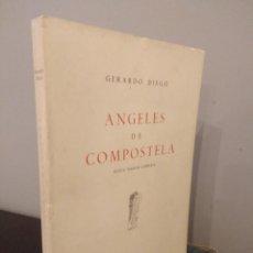 Libros de segunda mano: GERARDO DIEGO - ANGELES DE COMPOSTELA - NUEVA VERSIÓN COMPLETA 1961. Lote 142321274