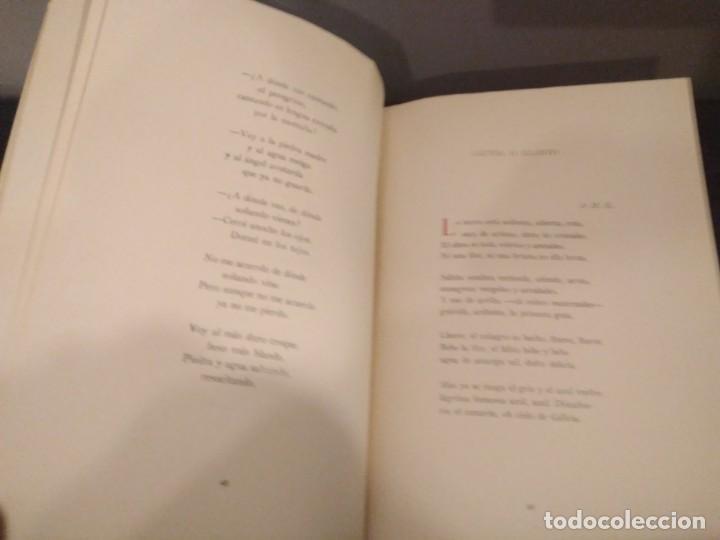 Libros de segunda mano: GERARDO DIEGO - ANGELES DE COMPOSTELA - NUEVA VERSIÓN COMPLETA 1961 - Foto 4 - 142321274