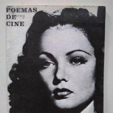 Libros de segunda mano: MANOLO MARINERO. POEMAS DE CINE (TECHNICOLOR ANTAÑO). Lote 142965990