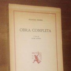 Libros de segunda mano: FRANCESC FERRER - OBRA COMPLETA - EDITORIAL BARCINO, 1989. Lote 143333622