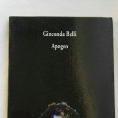 Libros de segunda mano: APOGEO GIOCONDA BELLI COLECCIÓN VISOR DE POESÍA. Lote 143851920