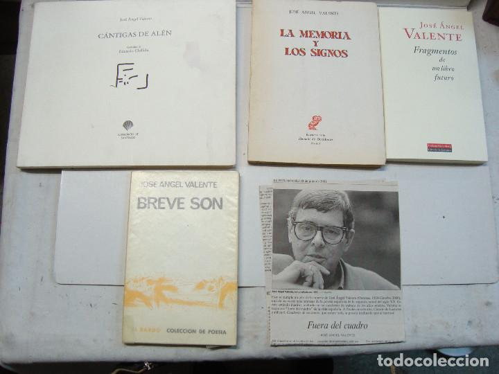 LOTE JOSE ANGEL VALENTE (4 LIBROS) (Libros de Segunda Mano (posteriores a 1936) - Literatura - Poesía)
