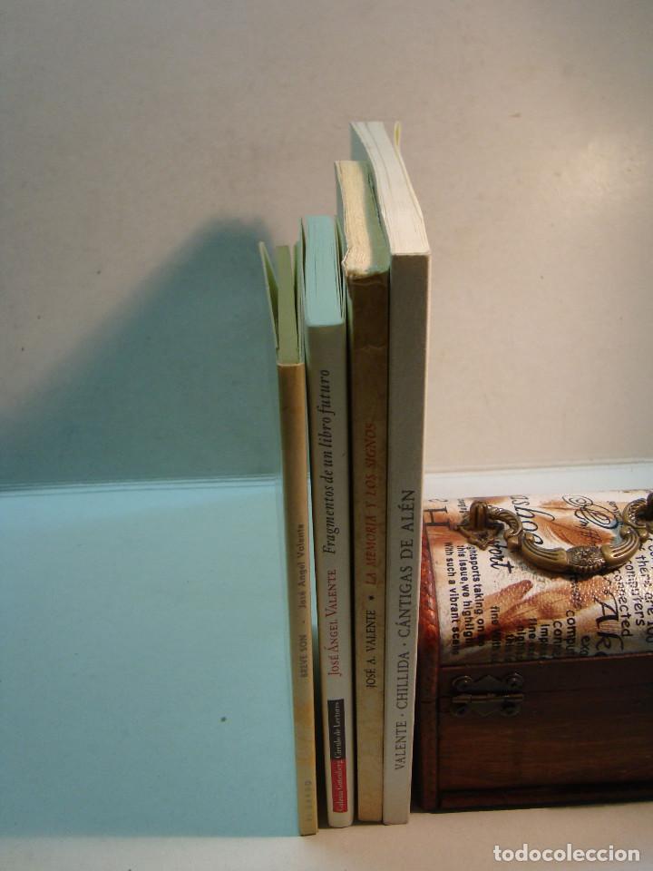 Libros de segunda mano: Lote Jose Angel Valente (4 libros) - Foto 3 - 144293350