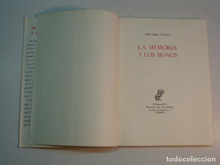Libros de segunda mano: Lote Jose Angel Valente (4 libros) - Foto 4 - 144293350