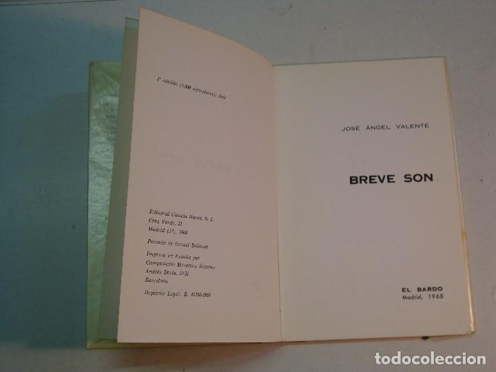 Libros de segunda mano: Lote Jose Angel Valente (4 libros) - Foto 6 - 144293350