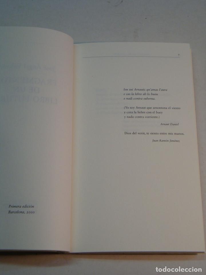 Libros de segunda mano: Lote Jose Angel Valente (4 libros) - Foto 15 - 144293350