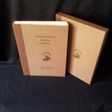 Libros de segunda mano: ANDALUCIA VUELA Y CANTA - CONSEJERIA DE EDUCACION Y CIENCIA - SEVILLA 1989 - NUMERADO. Lote 144467554