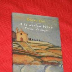 Libros de segunda mano: A LA DERIVA BLAVA. POEMES DE SITGES, DE DAVID JOU - 1995 DEDICATORIA AUTOR. Lote 144638410