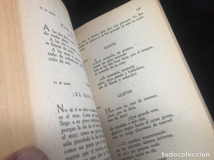 Libros de segunda mano: JUAN RAMÓN JIMÉNEZ diario de poeta y mar 1957 LOSADA - Foto 8 - 144695838