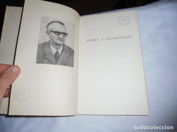 Libros de segunda mano: COSES Y COSADIELLES(SEMBLANZAS EN DIALECTO BABLE).BERNARDO GUARDADO RODRTIGUEZ.AVILES 1975 - Foto 4 - 144780050