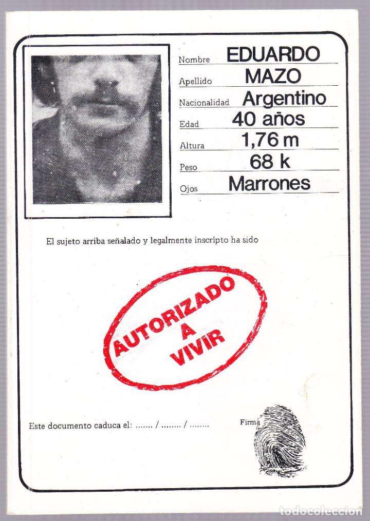 AUTORIZADO A VIVIR - EPIGRAMAS - EDUARDO MAZO - 2006 (Libros de Segunda Mano (posteriores a 1936) - Literatura - Poesía)