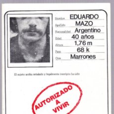 Second hand books - AUTORIZADO A VIVIR - EPIGRAMAS - EDUARDO MAZO - 2006 - 145116794