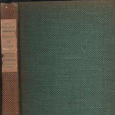 Libros de segunda mano: WALT WHITMAN : LEAVES OF GRASS (DOUBLEDAY, 1940) LUJOSA EDICIÓN, MUY ILUSTRADA. Lote 145625426