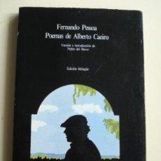 Libros de segunda mano: POEMAS DE ALBERTO CAEIRO. FERNANDO PESSOA. Lote 146274646
