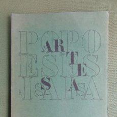 Libros de segunda mano: ARTESA. CUADERNOS DE POESÍA Y CRITICA LITERARIA Y DE ARTE. Nº 32 - 33 BURGOS FEBRERO 1977. VARIOS . Lote 146573018